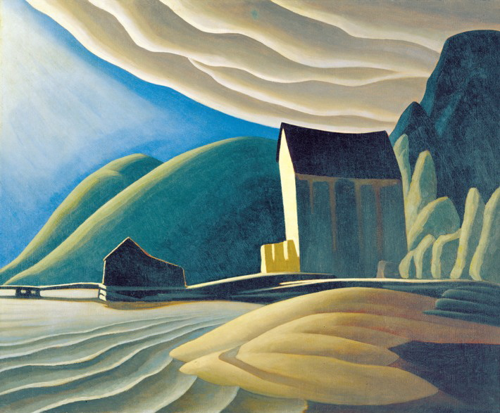 You are currently viewing Acrylic Painting 2 – Shape, Emphasis and Lawren Harris – ONLINE