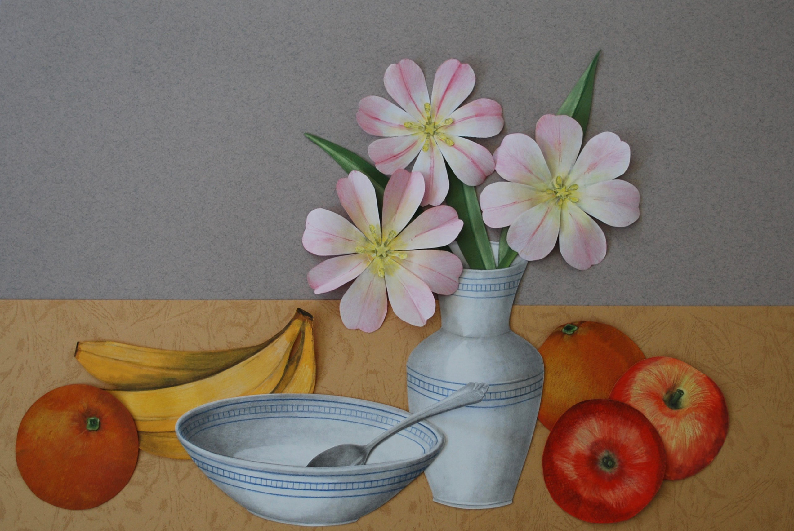 You are currently viewing Realistic Collage – Painting with Paper!