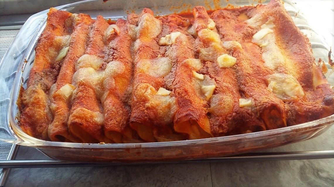 Cannelloni  Napoletani Ricotta e Mozzarella