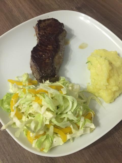 Steak und Kraut