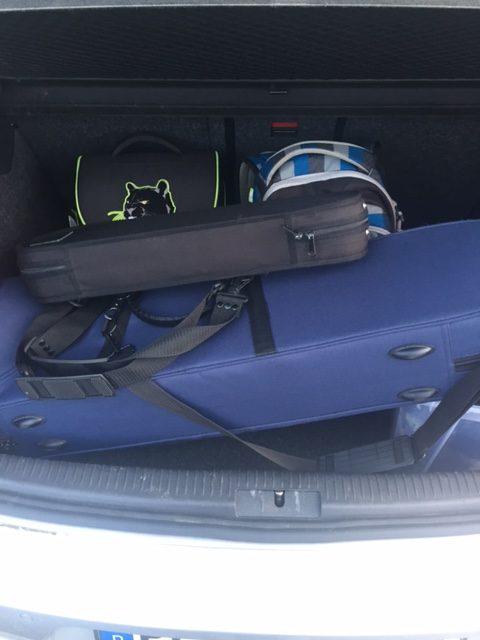 Instrumente im Kofferraum #12von12