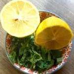 Minze und Zitrone