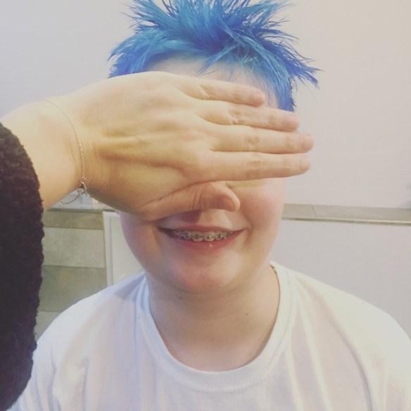 Kind 1.12 ist wieder blau