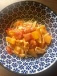 Haehnchen-Paprika-Geschnetzeltes - Schnelles Essen