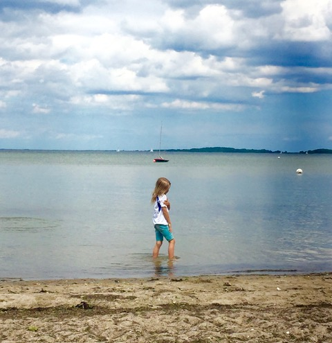 3.7 am Strand in der Geltinger Bucht