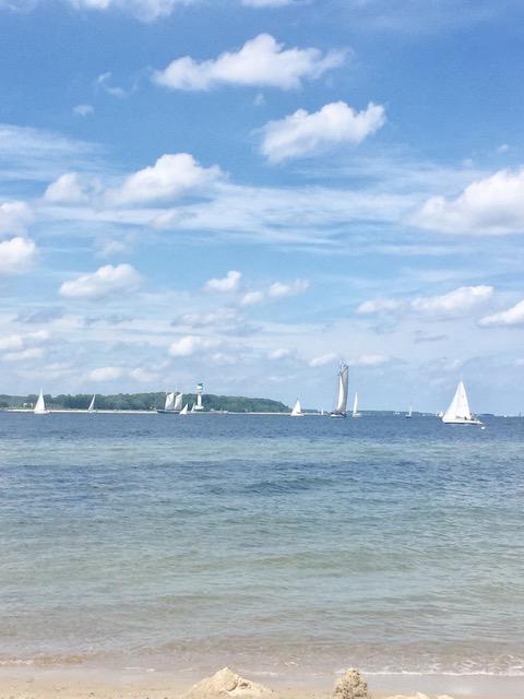 Moeltenorter Strand - Alltagsflaute Freitagszeuch