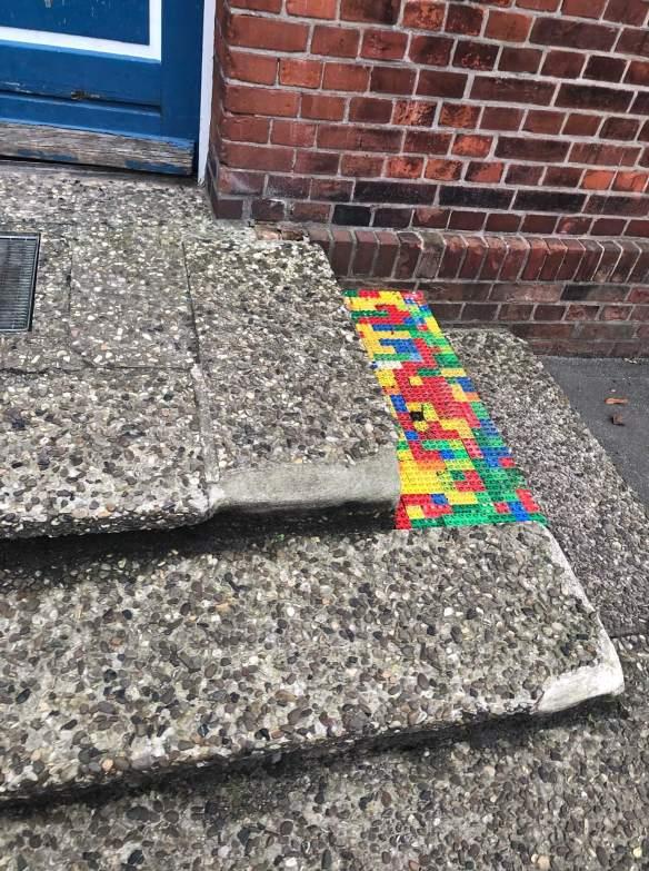 Treppenstufe in der Schule