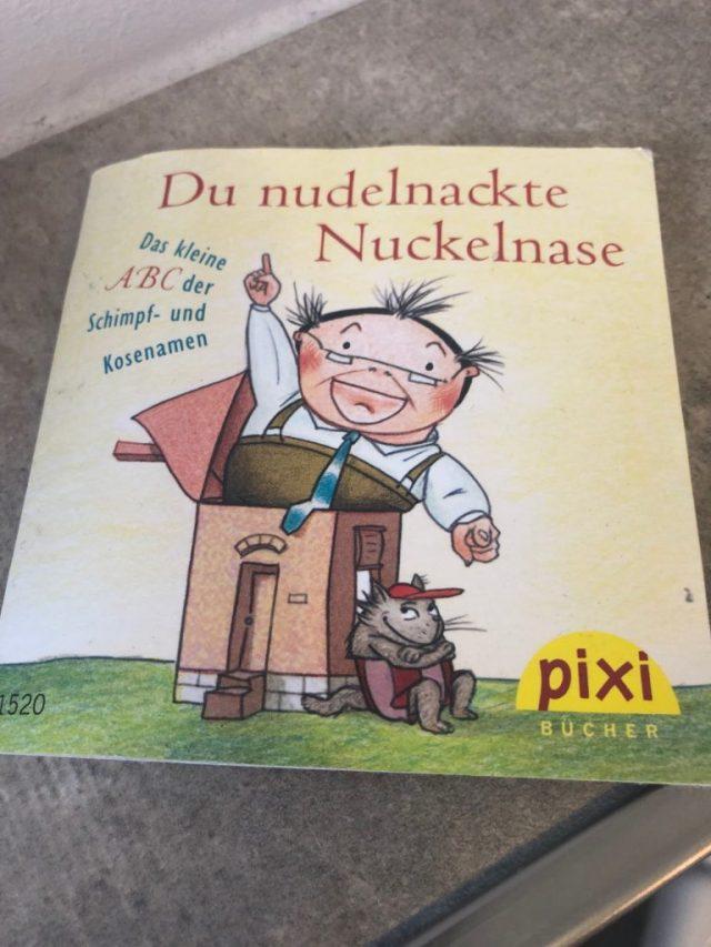 Pixibuch Du nudelnackte Nuckelnase
