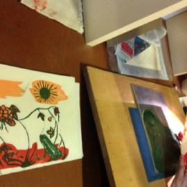 Imatges curs de Mokuhanga estiu 20