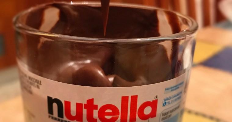 Let's talk about… Nutella, baaaaaby.