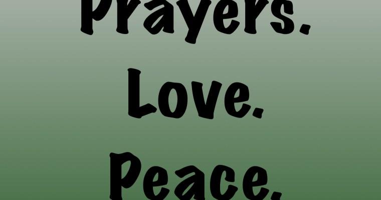 #PrayForLasVegas and #PrayForHumanity