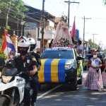 "Bandera jeré: Luqueños inician fiesta patronal con bombapú y ""Jopói Tupãsÿme guarã"""