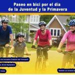 Municipio luqueño invita a participar del paseo en bici