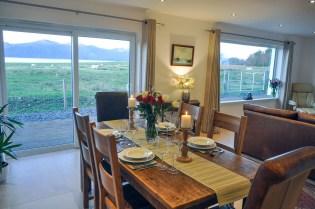 Living room/dining room   Lurach House