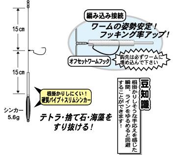 根掛迴避!Gamakatsu 根釣專用倒吊組 | 路亞巴士