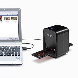 サンワダイレクト フィルムスキャナ USB接続 517万画素 フィルムの写真をテレビやスマホで楽しめる! 400-SCN006