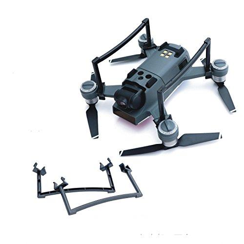 Hensychクイックリリース高めトライポッドスマートエアクラフトブラケット無人機着陸装置トライポッドアクセサリー DJI Spark Droneに対応 (グレー)