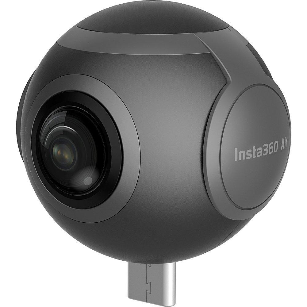 Insta360 Air、360°パノラマカメラ、デュアル魚眼レンズ、3K/2K解像度、持ち運びやすい、Android・多機種対応, Facebook 360ライブ (Type-C)