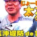 超人気タチウオ釣り場で、じょーじ山本がソフトバイブなど特殊ルアーでタチウオを連発する実釣動画が公開中