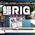 ウナギリグ【鰻RIG】デカバスに投入したい注目バス釣りリグを徹底解説【小林知寛が直伝!リグり方、アクション法ほか】