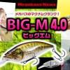 発売間近!メガバスの注目の新型マグナムクランク「BIG-M4.0」ビッグMを詳しく紹介【サトシン塾・佐藤信治が監修】