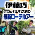 伊藤巧のオカッパリバス釣り最新ローテーションルアーと使い方を超詳しく紹介