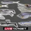 【ライブ ターゲット LIVETARGET】 複数のベイトを1つのルアーで表現したベイトボールシリーズほか注目&新作バス釣り用ルアーを一挙紹介