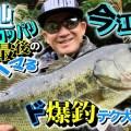 今江克隆プロの最新野池オカッパリ動画を配信開始!平成最後の冬に釣りマクれる神テク満載
