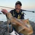 【池内修次の毎日イカ曜日♪】日本海・春エギングで2400g!!