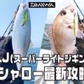 【人気上昇中!】SLJスーパーライトジギングのこれからのシーズンに効くタイ・青物・根魚攻略法