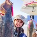 サーフ好き釣りガール「エリカ」が強風&急流時のサーフヒラメゲームで多用するミノーとその使い方を紹介