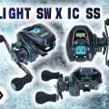 定価15,000円【LIGHT SW X IC SS】ダイワから色んなオフショアライトSWゲームで使える浅溝スプール搭載のNEWカウンター付きリールが登場