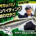 オカッパリバス釣りで効果的な超リアル系スイムベイトとその使い方を紹介
