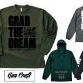 GAN CRAFTアパレル【GRAB THE DREAM】シリーズのロンT新色など要チェック!