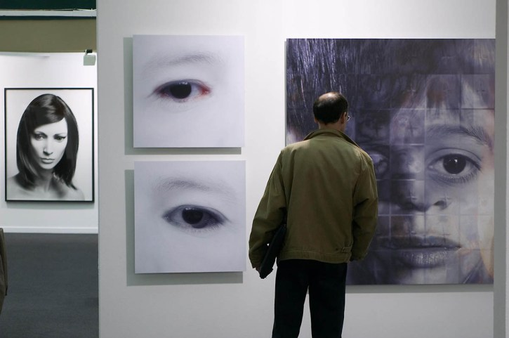 Aspecto de la Feria de FotografÌa DFOTO