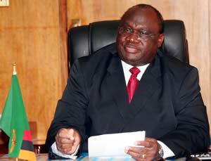 EDUCATION Minister Geoffrey Lungwangwa