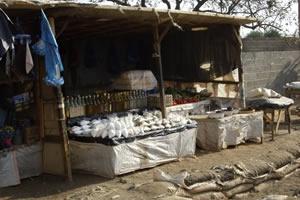 Kantemba selling home brewed beer