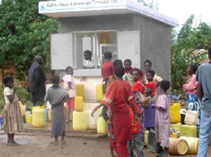 Low-cost housing water supply and sanitation project