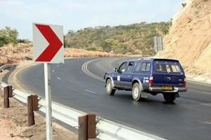 Lusaka- Chirundu road (before )