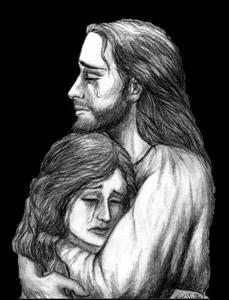 jesus_holding_lady_in_tears_