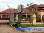 A frontal view of Henry Kapoko's Best Home Lodge