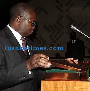 Finance and National Planning Minster, Stumbeko Musokotwane