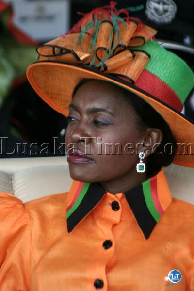 Former First Lady Thandiwe Banda