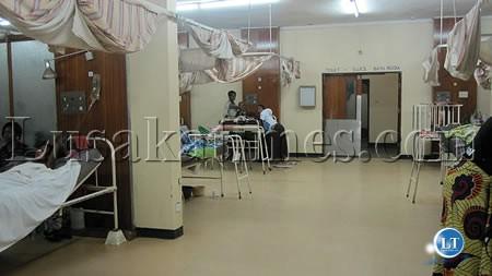 A ward at UTH