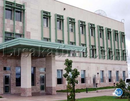 American Embassy  in Lusaka