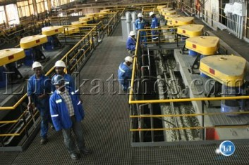 Equipment at the Luanshya Copper Mine and Muliayashi Mine, which are one of Zambia's mines promising a profitable future.