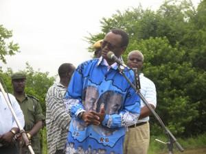 Former Vice President George Kunda