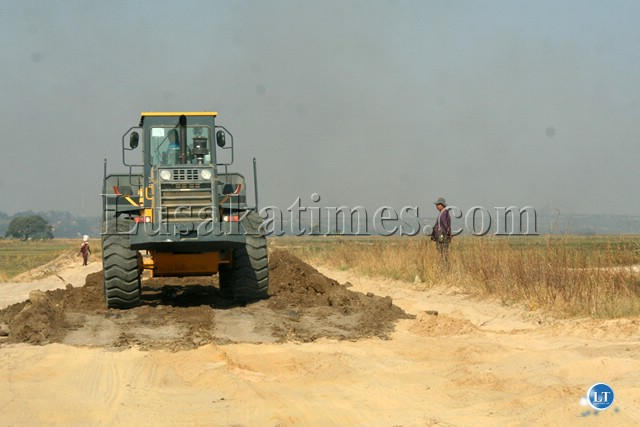 AVIC The construction of the Mongu-Kalabo road has started by Chinese AVIC International