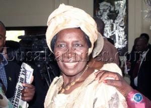 Nalolo Member of Parliament Inonge Wina