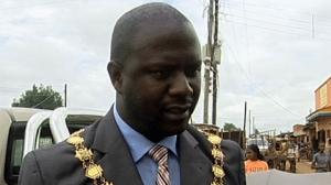 LUSAKA Mayor, Daniel Chisenga
